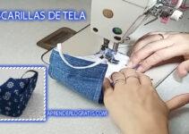 APRENDE HACER MASCARILLAS DE TELA